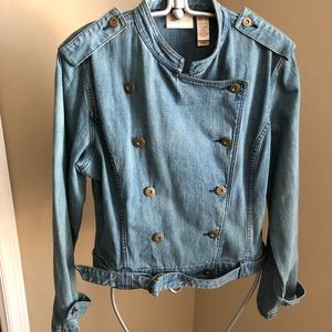 Vintage Rare Liz Claiborne denim double breasted